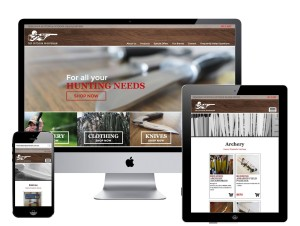 the outdoor sportsman ecommerce website by circle media