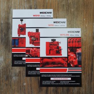 Weichai Brochures by Circle Media