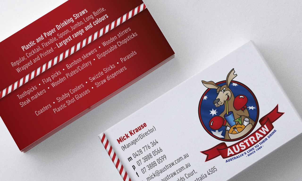 Circle Media _ portfolio _ Austraw business card