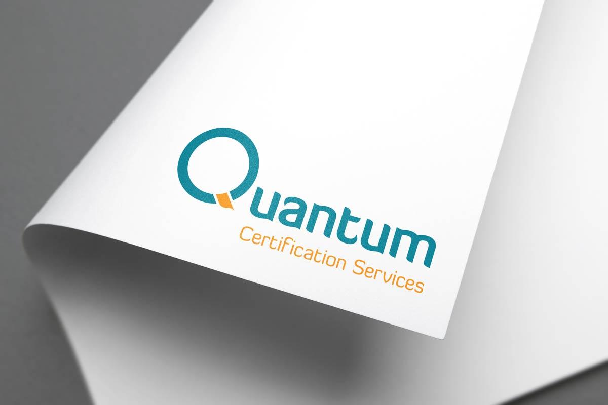 Quantum Certification Services logo design