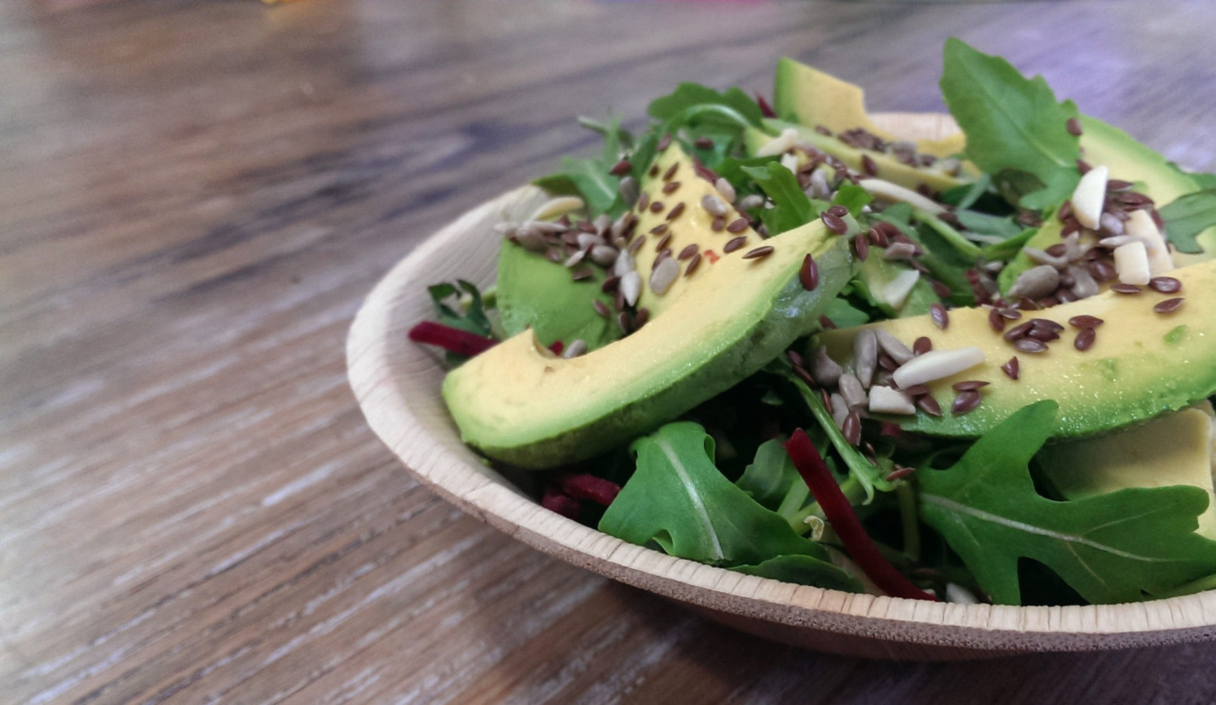 One Tree eco bowl with salad photography