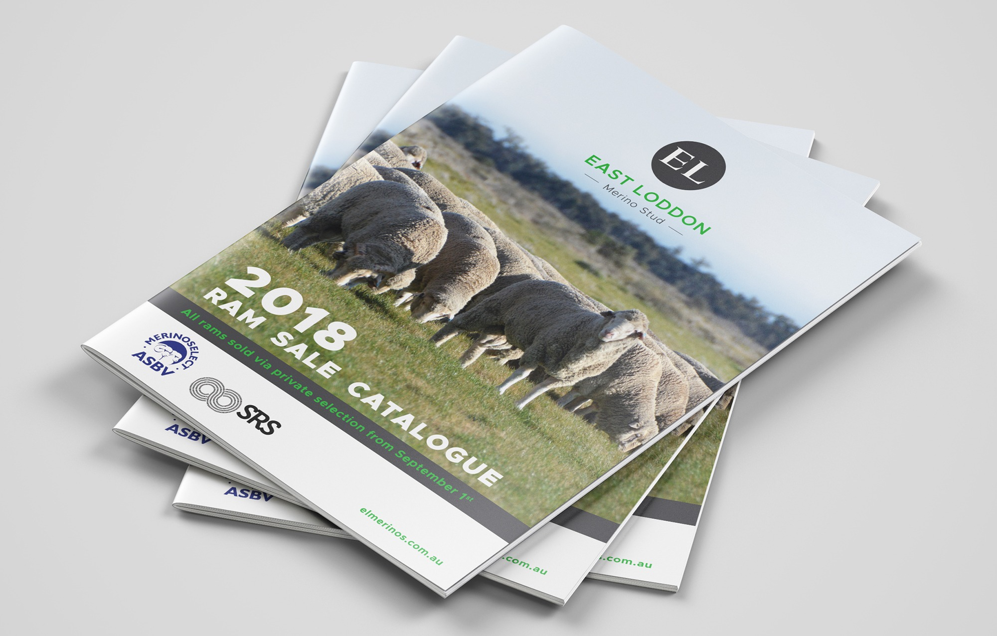 Circle Media_east loddon merino stud_ram sales catalogue cover