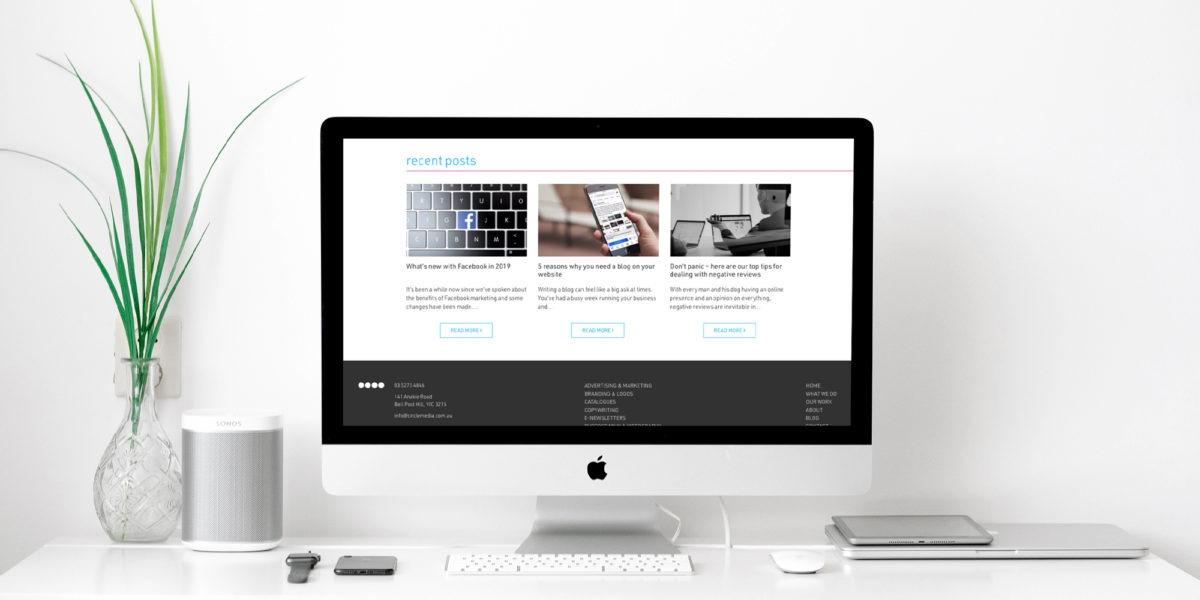Circle Media website updates 0.4